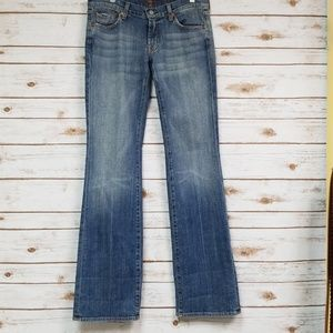 7 for all mankind bootcut jeans size 29
